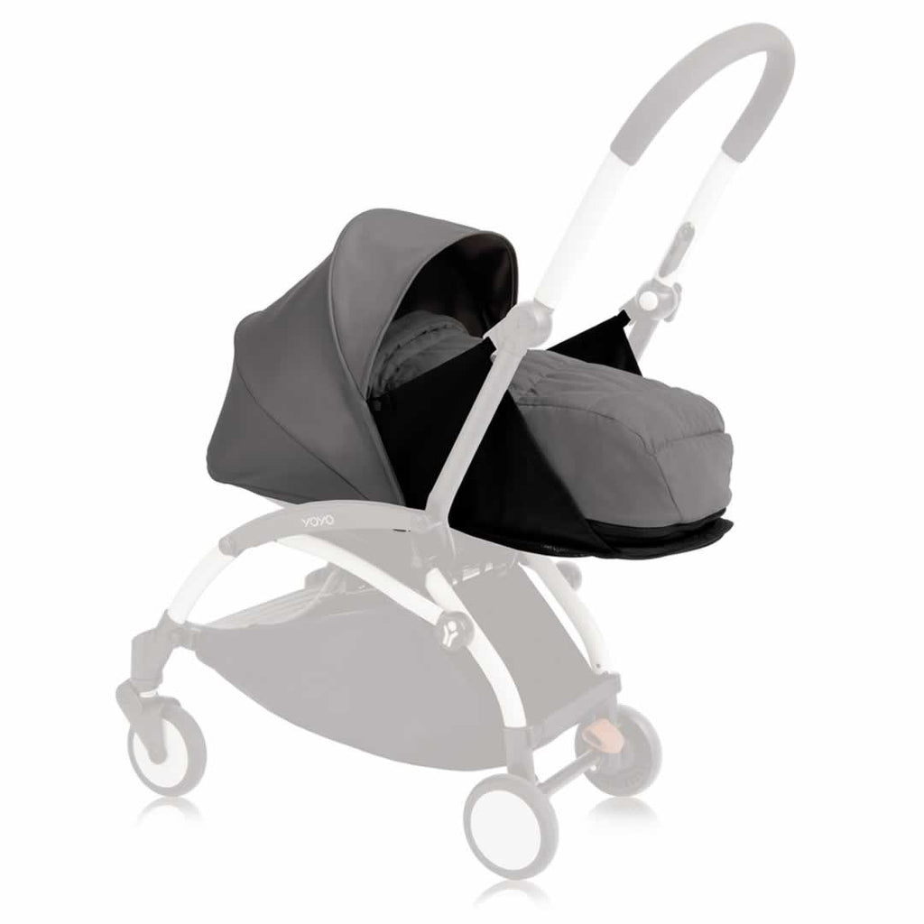 Colour Packs - Babyzen YoYo Plus - 0+ Newborn Pack - Grey
