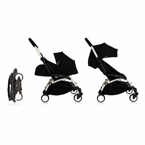 Babyzen YoYo+ Complete Stroller in White with Black