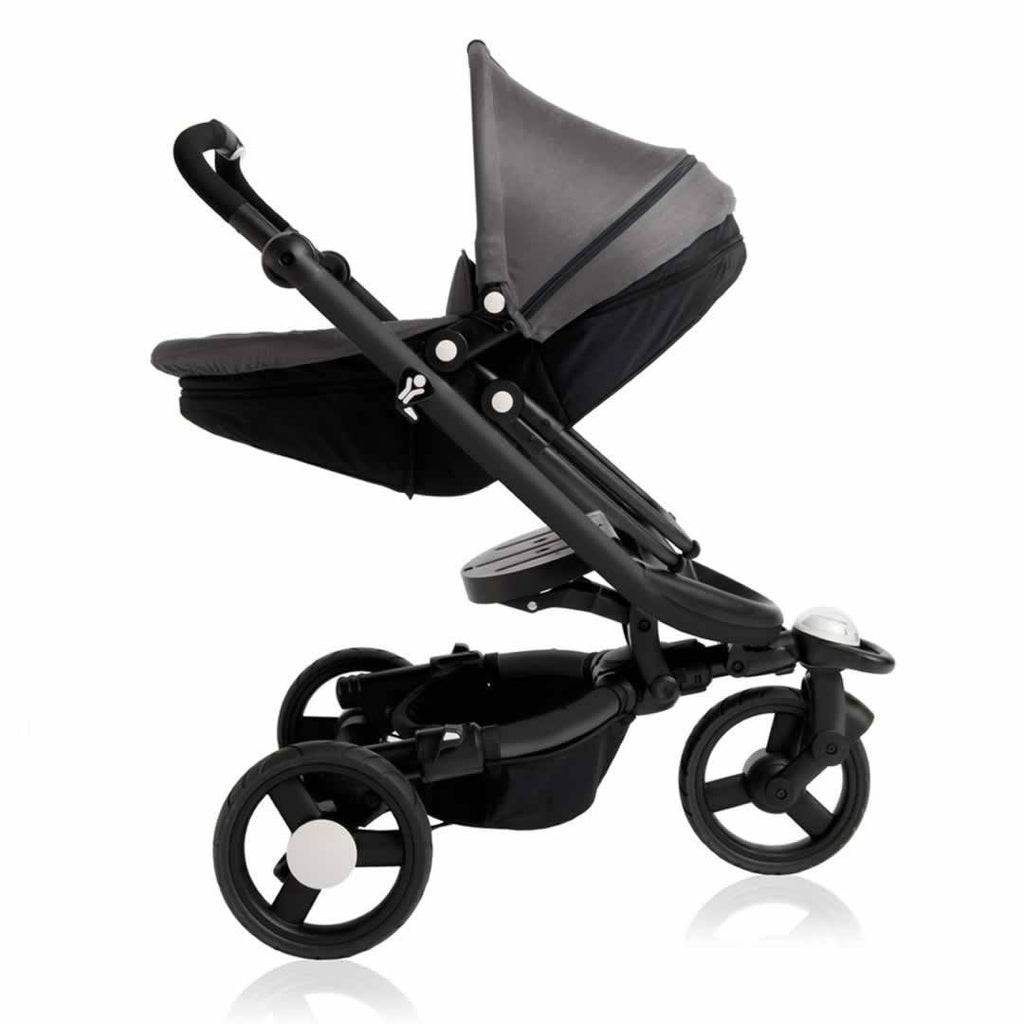 Babyzen Zen Black with Grey Carrycot