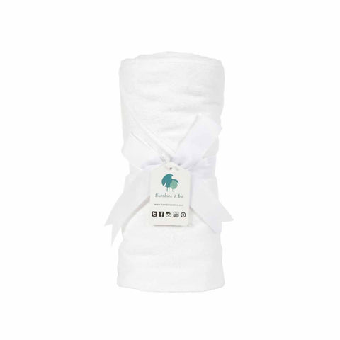 Bambini & Me Over-sized Hooded Towel - Towels & Robes - Natural Baby Shower