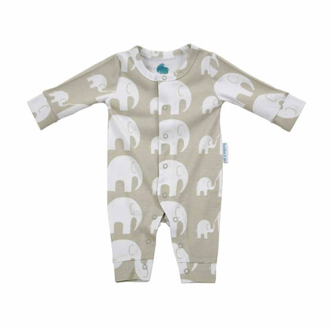 Bambini & Me Romper - Elephant - Playsuits & Rompers - Natural Baby Shower