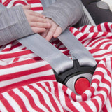 Bambino Merino Poppy Stripe Baby Travel Sleep Bag