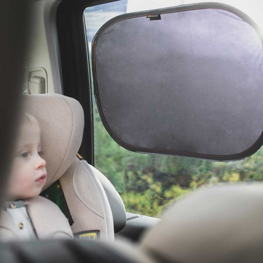 BeSafe Sunshades - 2 Pack-Car Seat Kits- Natural Baby Shower