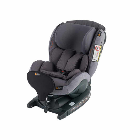 BeSafe iZi Kid X3 i-Size Car Seat - Metallic Melange-Car Seats- Natural Baby Shower