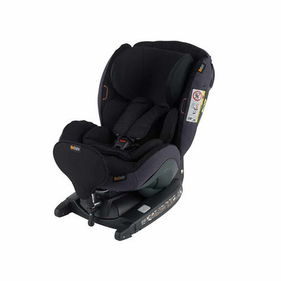 BeSafe iZi Kid X3 i-Size Car Seat - Midnight Black Melange-Car Seats- Natural Baby Shower