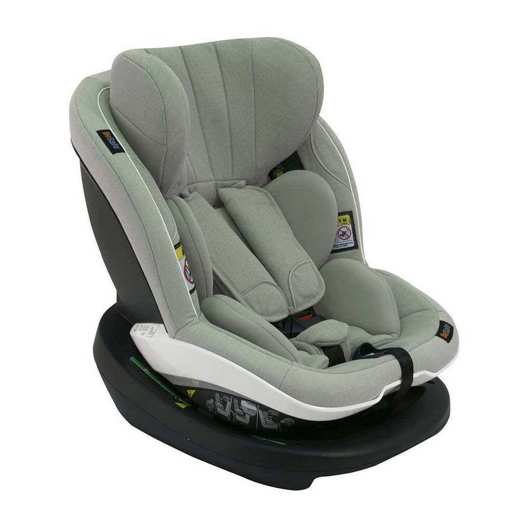 BeSafe iZi Modular Car Seat + Base - Sea Green Melange