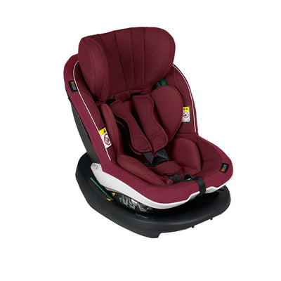BeSafe iZi Modular X1 i-Size Car Seat - Burgundy Melange-Car Seats- Natural Baby Shower