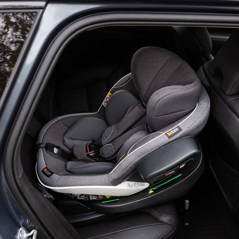 BeSafe iZi Modular X1 i-Size Car Seat - Metallic Melange-Car Seats- Natural Baby Shower