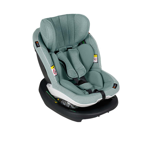 BeSafe iZi Modular X1 i-Size Car Seat - Sea Green Melange-Car Seats- Natural Baby Shower
