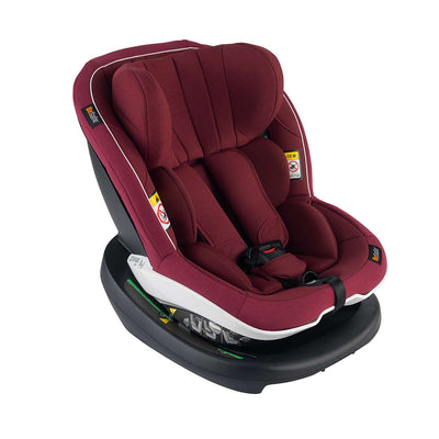 BeSafe iZi Modular i-Size Car Seat - Burgundy Melange-Car Seats- Natural Baby Shower