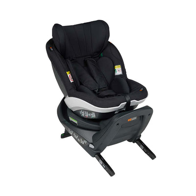 BeSafe iZi Turn i-Size Car Seat - Fresh Black Cab-Car Seats- Natural Baby Shower