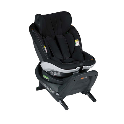 BeSafe iZi Turn i-Size Car Seat - Premium Car Interior Black-Car Seats- Natural Baby Shower