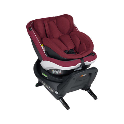 BeSafe iZi Twist B i-Size Car Seat - Burgundy Melange-Car Seats- Natural Baby Shower