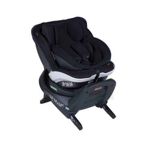 BeSafe iZi Twist B i-Size Car Seat - Premium Car Interior Black-Car Seats- Natural Baby Shower