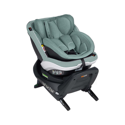BeSafe iZi Twist B i-Size Car Seat - Sea Green Melange-Car Seats- Natural Baby Shower