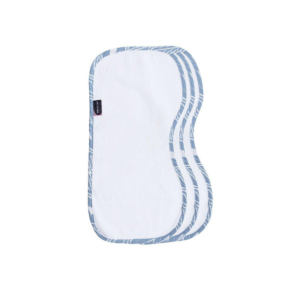 Bebe Au Lait Burp Cloth Set 3 Pack - Belize