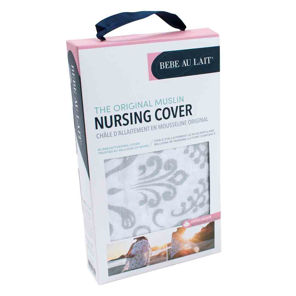 Bebe Au Lait Muslin Nursing Cover - Atherton-Nursing Covers- Natural Baby Shower