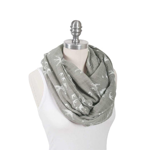 Bebe Au Lait Muslin Nursing Scarf - Nightingale-Nursing Scarves-Nightingale-One Size- Natural Baby Shower