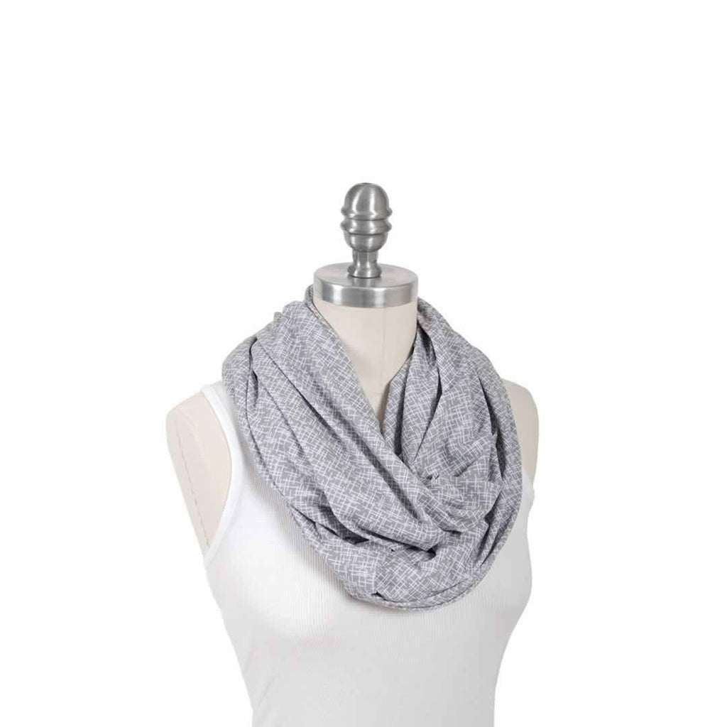 Bebe Au Lait Cotton Nursing Scarf in Lexington