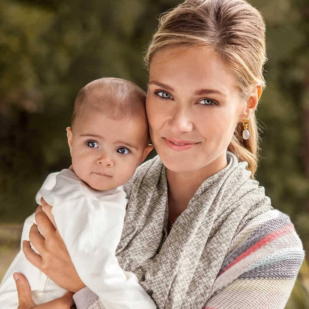 Bebe Au Lait Cotton Nursing Scarf - Lexington Lifestyle
