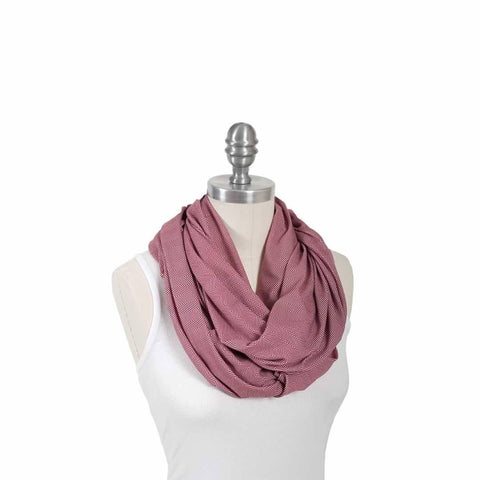 Bebe Au Lait Cotton Nursing Scarf in Marsala