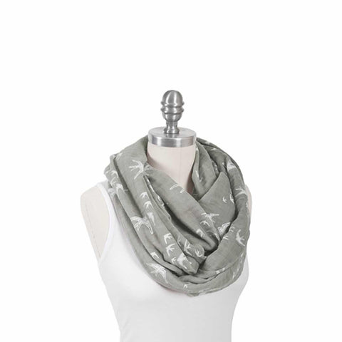 Bebe Au Lait Muslin Nursing Scarf in Nightingale