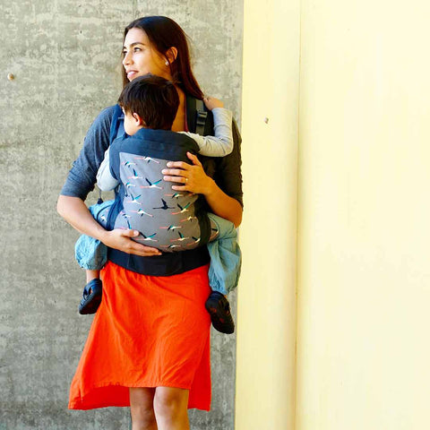 Beco Toddler Carrier - Flamingos Salmon-Baby Carriers- Natural Baby Shower