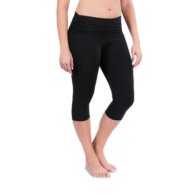 Belly Bandit Activewear Capris - Black-Maternity Leggings- Natural Baby Shower