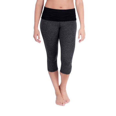 Belly Bandit Activewear Capris - Charcoal-Maternity Leggings- Natural Baby Shower
