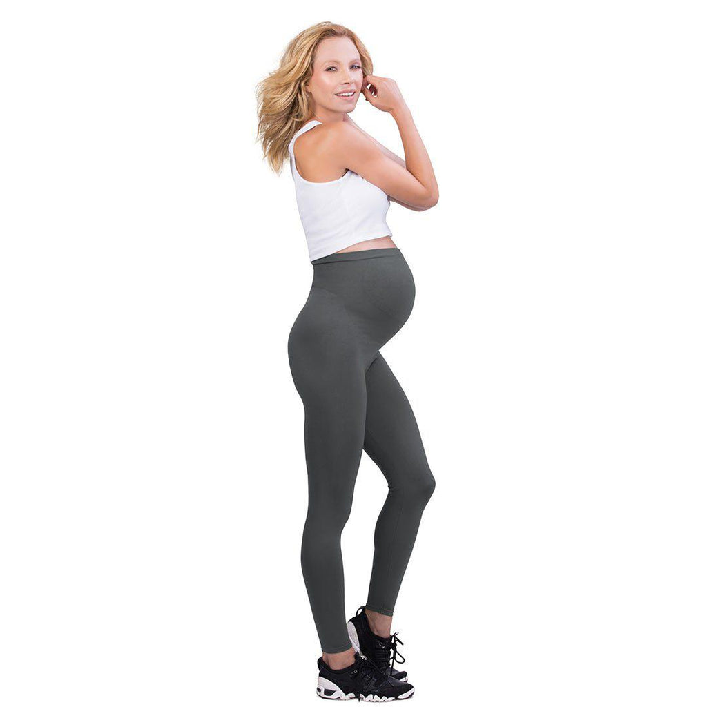 Belly Bandit Bump Support Leggings - Grey 2