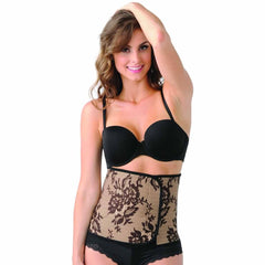 Belly Bandit Couture in Black Lace Print