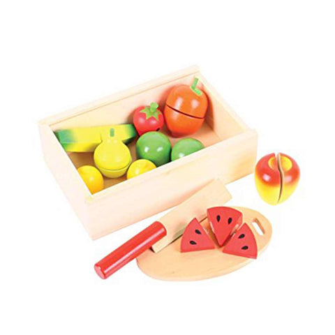BigJigs Cutting Fruit-Play Sets-Default- Natural Baby Shower