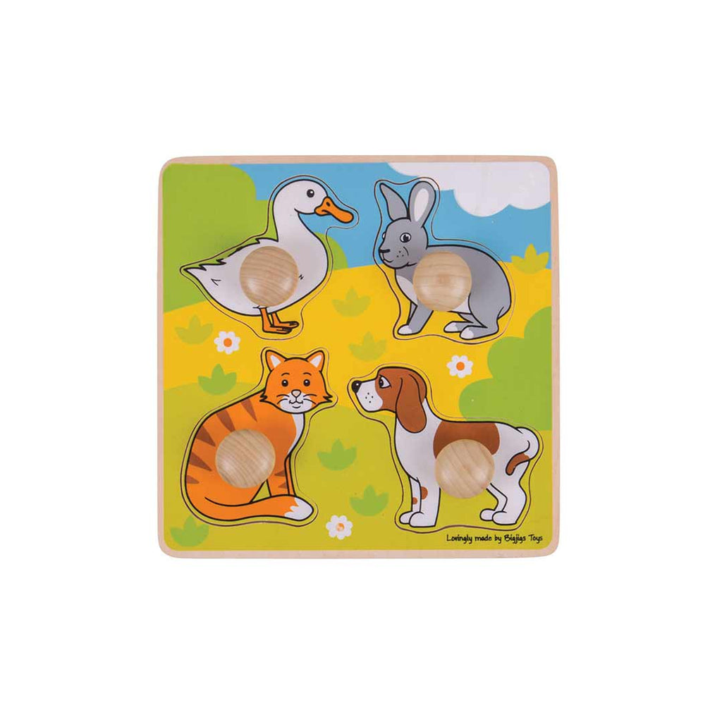 BigJigs My First Peg Puzzle - Pets