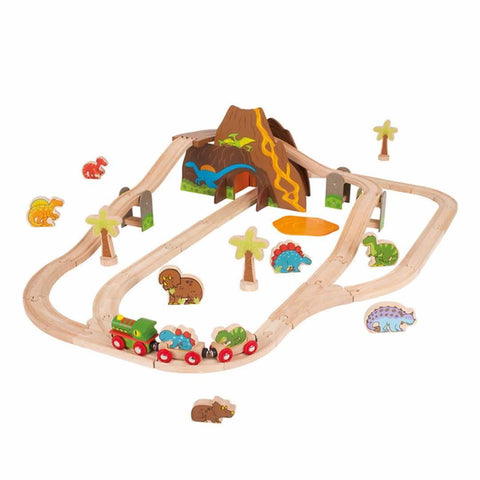 BigJigs Dinosaur Train Set - Play Sets - Natural Baby Shower