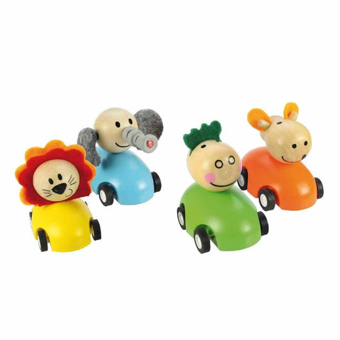 Play Sets - BigJigs Pull Back Animals - 2 Pack