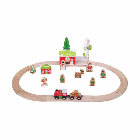 BigJigs Winter Wonderland Train Set - Play Sets - Natural Baby Shower