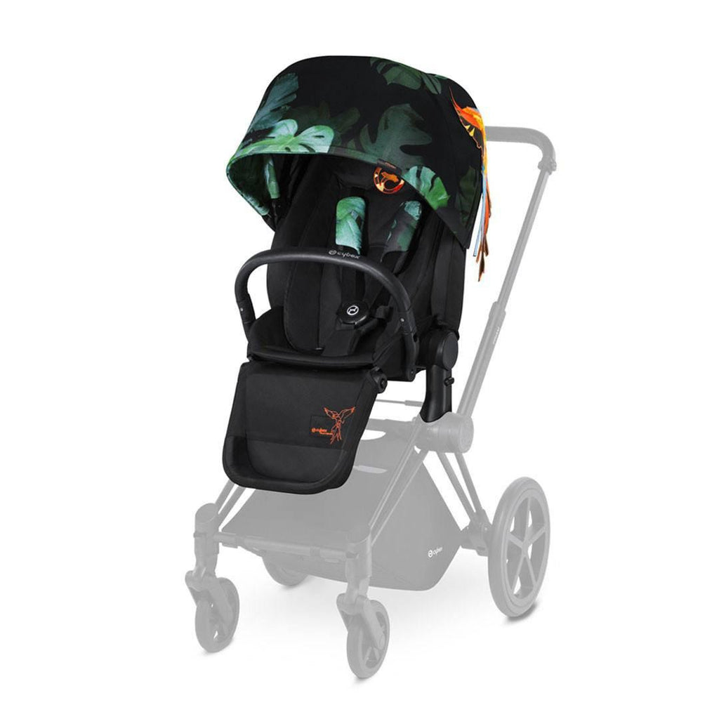 Cybex Priam Lux Seat - Birds of Paradise-Stroller Seats- Natural Baby Shower