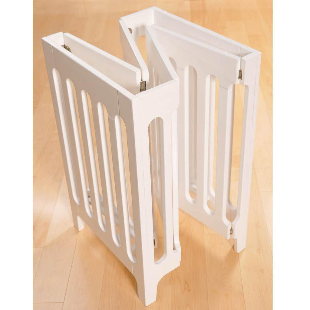 Bloom Alma Mini Crib - Coconut White Fold
