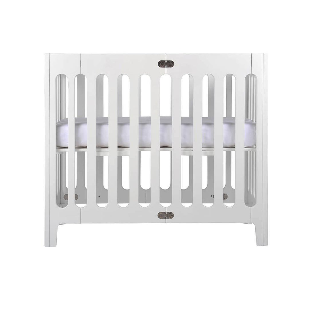 Bloom Alma Mini Crib in Coconut White