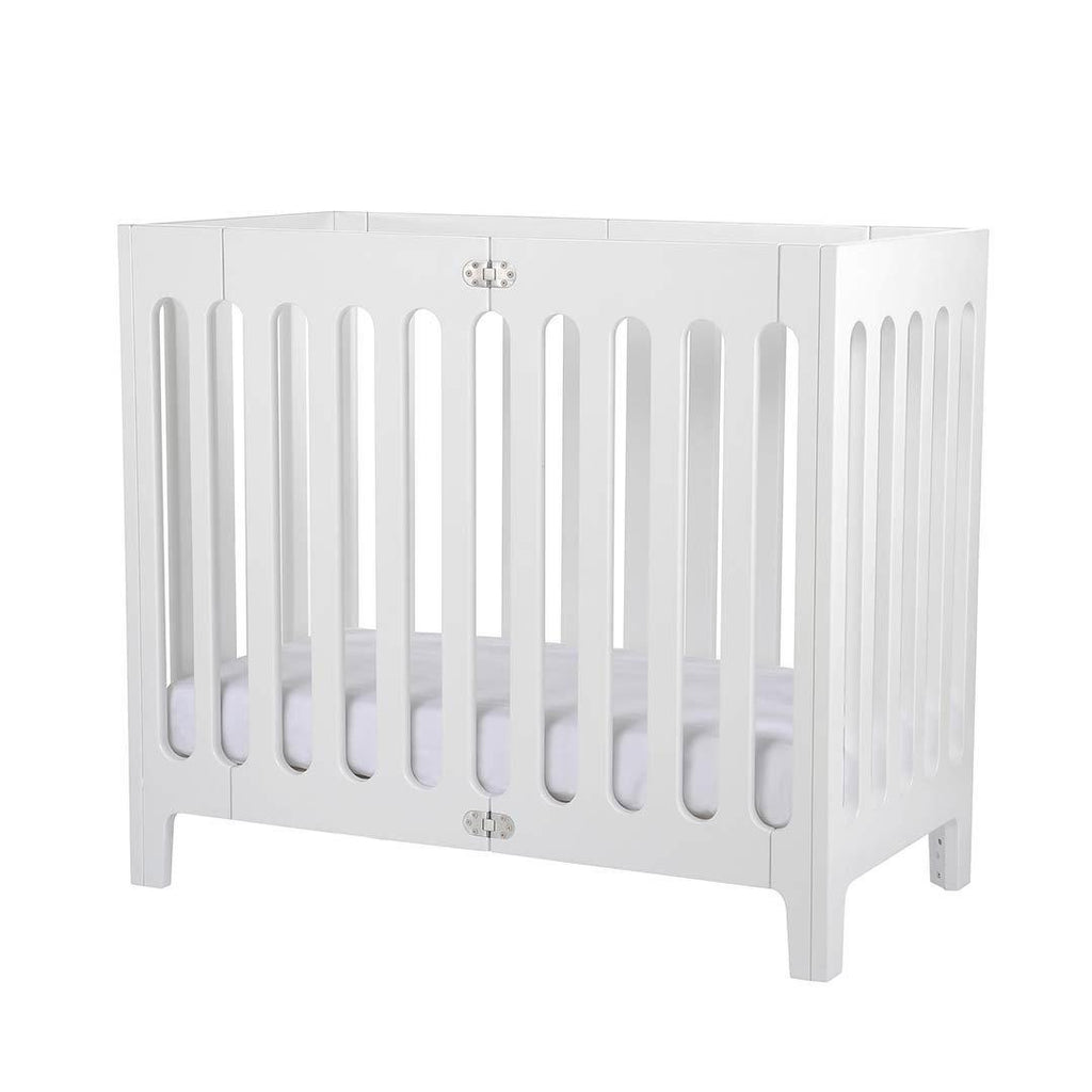 Bloom Alma Mini Crib - Coconut White