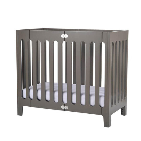 Bloom Alma Mini Crib - Frost Grey