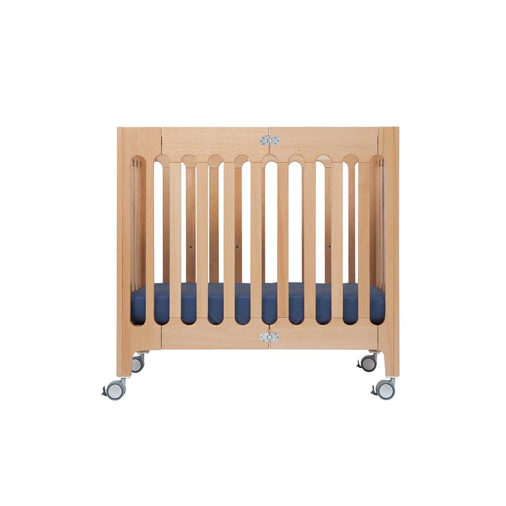 Bloom Alma Mini Crib - Natural 1