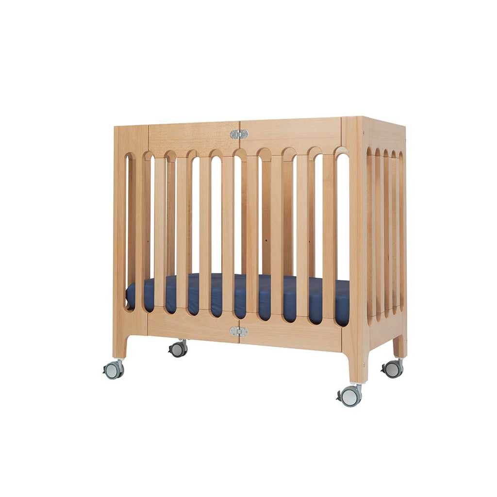 Bloom Alma Mini Crib - Natural 3