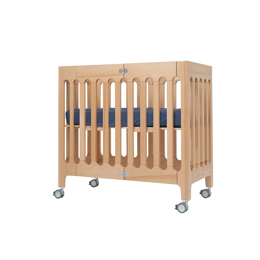 Bloom Alma Mini Crib - Natural 2