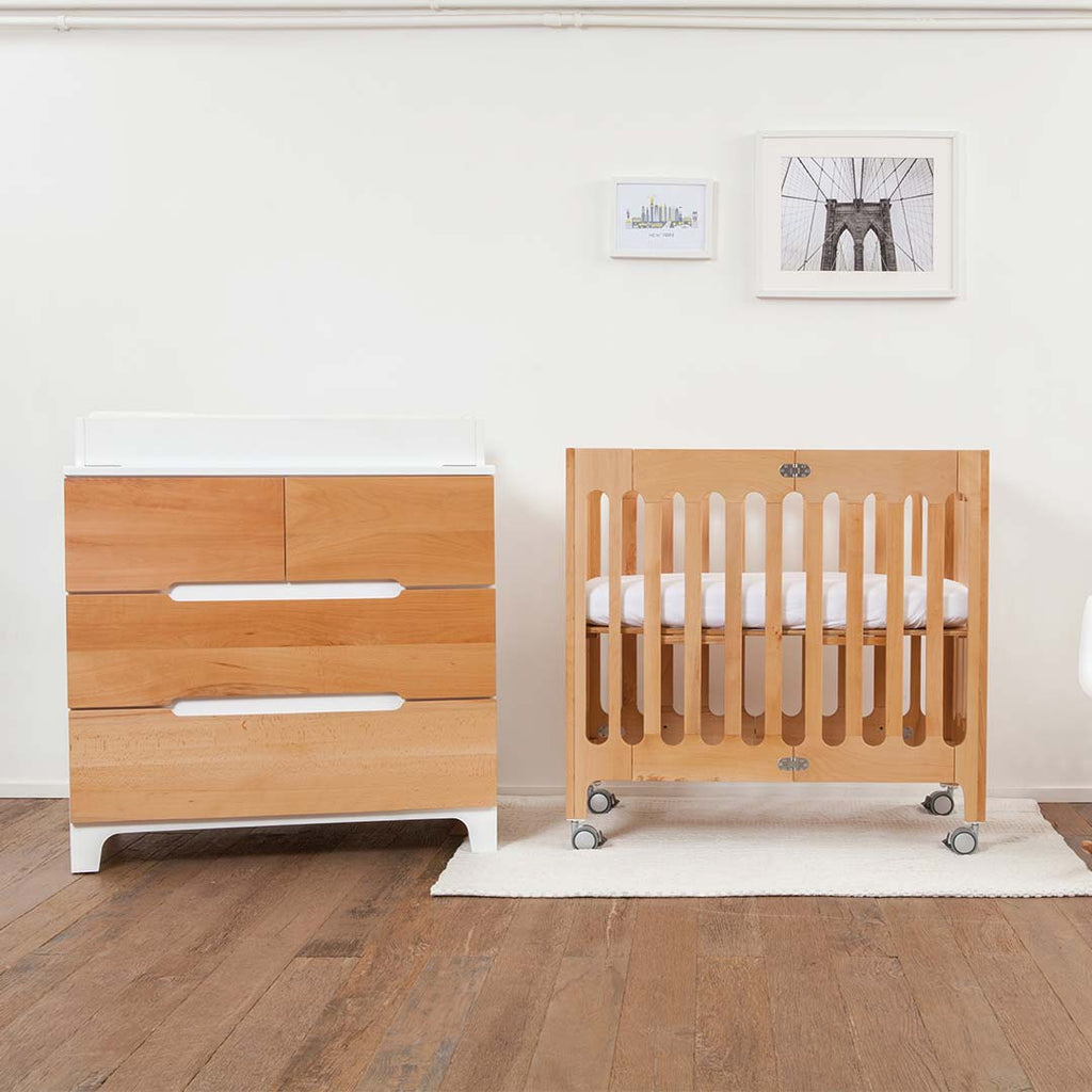 Bloom Alma Mini Crib - Natural 7