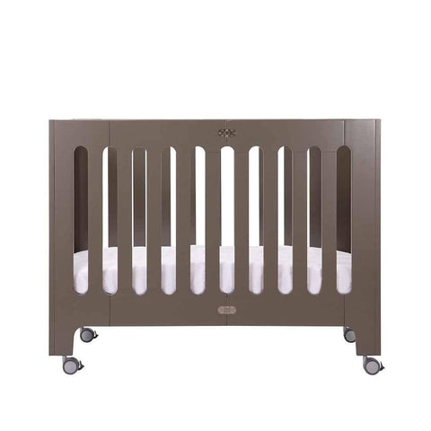 Bloom Alma Papa Crib - Frost Grey