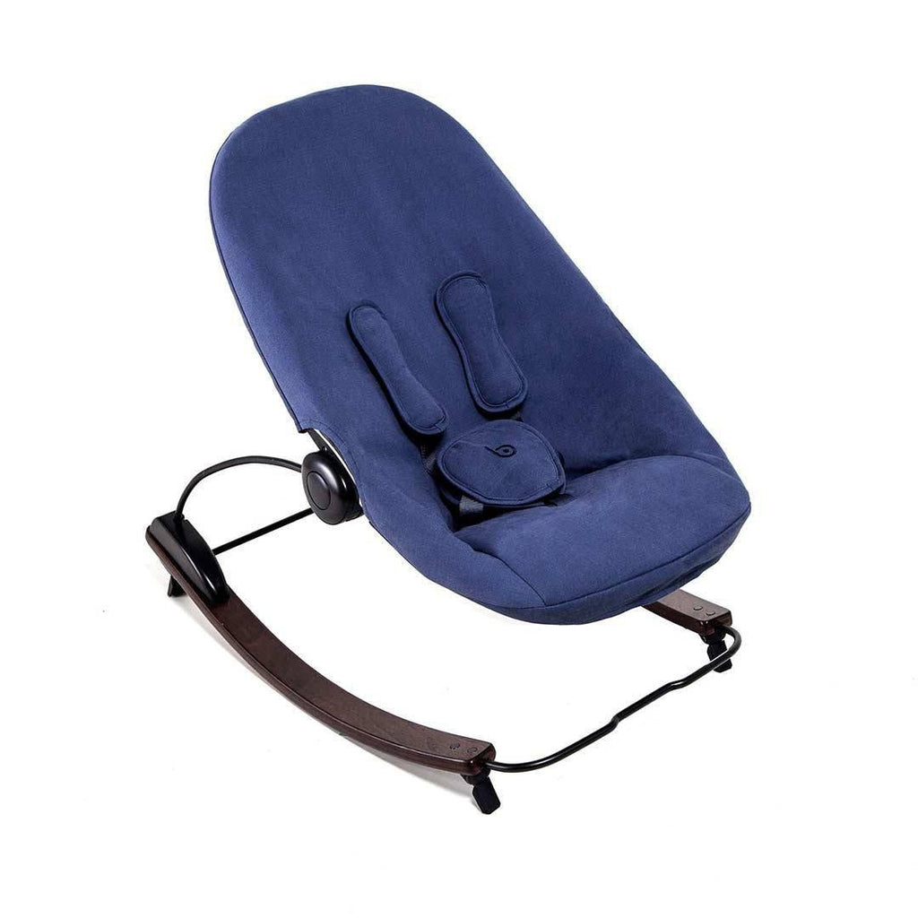 Bloom Coco Go Organic Lounger - Navy Blue