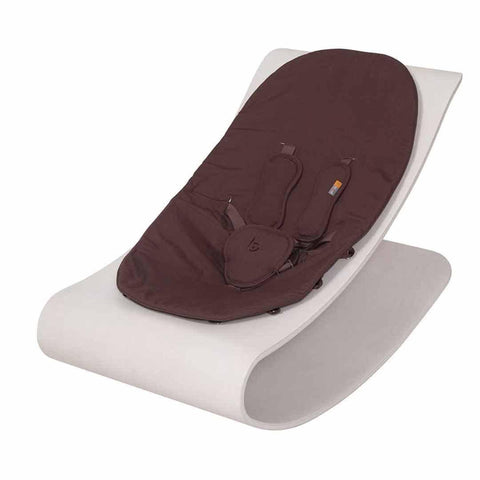 Bloom Coco Stylewood Lounger - Beach House White + Henna Brown