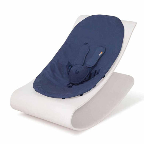 Bloom Coco Stylewood Lounger - Beach House White + Navy Blue