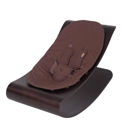 Bloom Coco Stylewood Lounger - Cappuccino + Henna Brown
